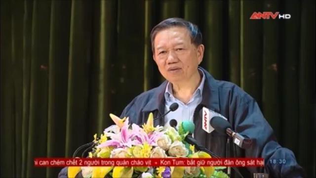 Bộ trưởng Tô Lâm tiếp xúc cử tri huyện Tiên Du, Bắc Ninh