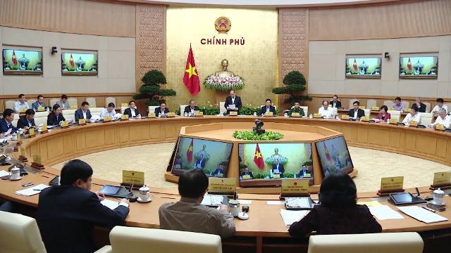 Thủ tướng chủ trì phiên họp Chính phủ thường kỳ tháng 11