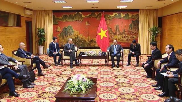 Thủ tướng tiếp Chủ tịch Hiệp hội Italia - ASEAN Enrico Letta