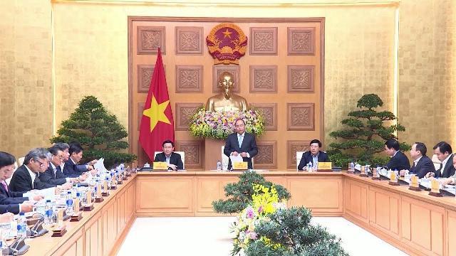 Thủ tướng Nguyễn Xuân Phúc họp bàn giải pháp phát triển kinh tế năm 2019