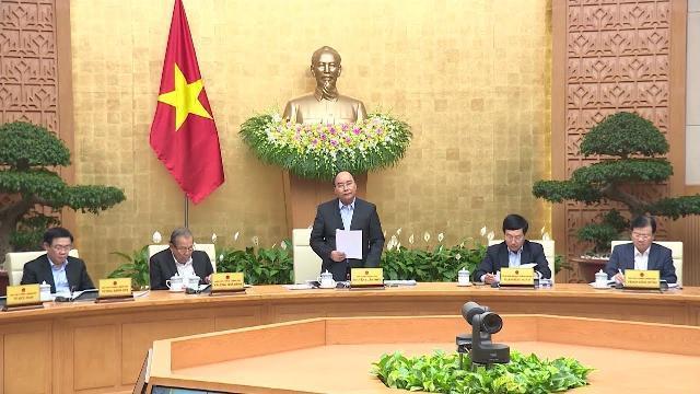 Thủ tướng chủ trì phiên họp Chính phủ thường kỳ tháng 12 năm 2018