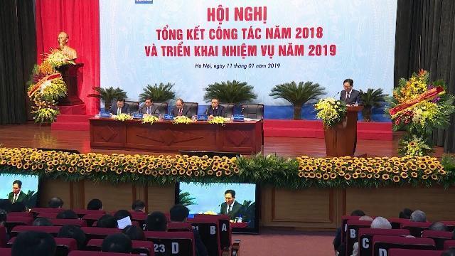 Thủ tướng dự Hội nghị tổng kết năm 2018 của Tập đoàn Dầu khí Việt Nam