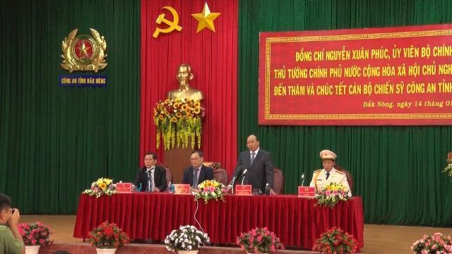 Thủ tướng dự Hội nghị Xúc tiến đầu tư tỉnh Đắk Nông năm 2019