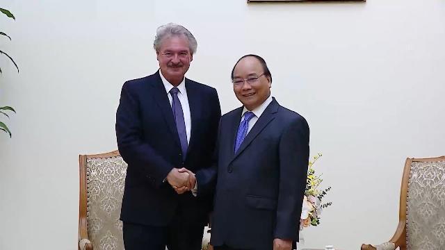 Thủ tướng tiếp Bộ trưởng ngoại giao Luxembourg