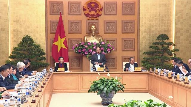Thủ tướng chủ trì cuộc họp lần thứ 2 của Tiểu ban Kinh tế - Xã hội