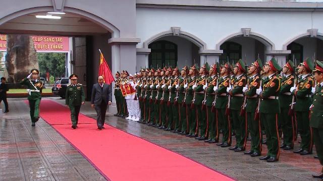Thủ tướng làm việc với Tổng cục 2, Bộ Quốc phòng