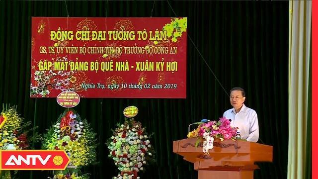 Bộ trưởng Tô Lâm chúc tết nhân dân huyện Văn Giang, Hưng Yên