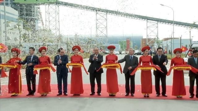 Thủ tướng dự Lễ khánh thành Nhà máy nhiệt điện Thái Bình 1