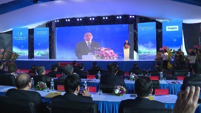 Thủ tướng dự Lễ khởi công dự án đầu tư xây dựng tuyến đường bộ ven biển