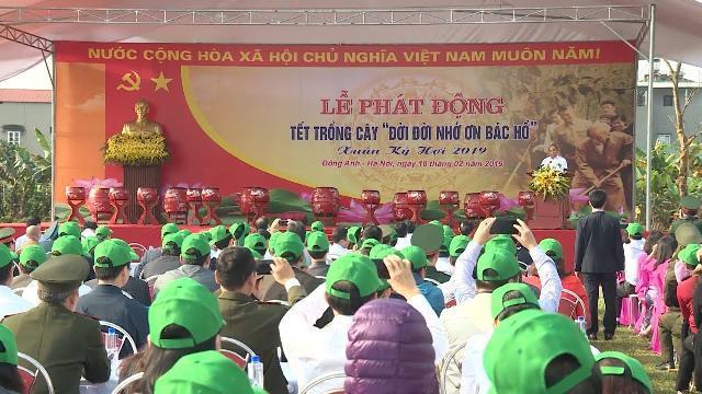 Thủ tướng Nguyễn Xuân Phúc dự Lễ phát động Tết trồng cây tại Hà Nội
