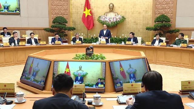 Thủ tướng chủ trì họp Chính phủ thường kỳ tháng 2 năm 2019