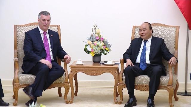 Thủ tướng Chính phủ tiếp Phó Chủ tịch điều hành Tập đoàn Boeing