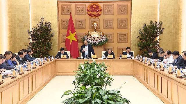 Thủ tướng làm việc với Tiểu ban Kinh tế - Xã hội