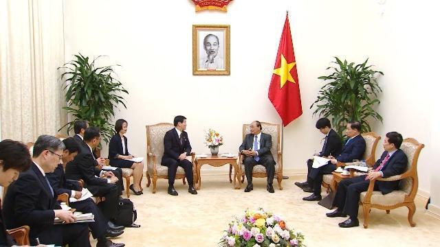 Thủ tướng Nguyễn Xuân Phúc tiếp Thống đốc tỉnh Chiba (Nhật Bản)