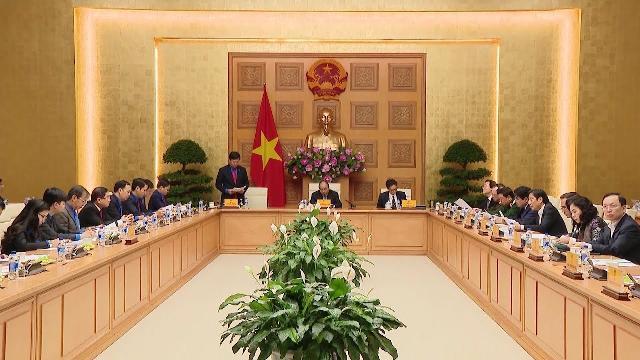 Thủ tướng làm việc với Trung ương Đoàn