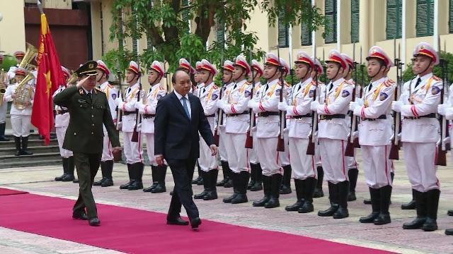 Thủ tướng yêu cầu lực lượng công an tiếp tục đổi mới, nâng cao chất lượng, hiệu quả các mặt công tác