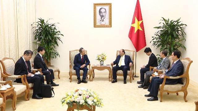 Thủ tướng Nguyễn Xuân Phúc tiếp Chủ tịch Tập đoàn Maruhan (Nhật Bản)