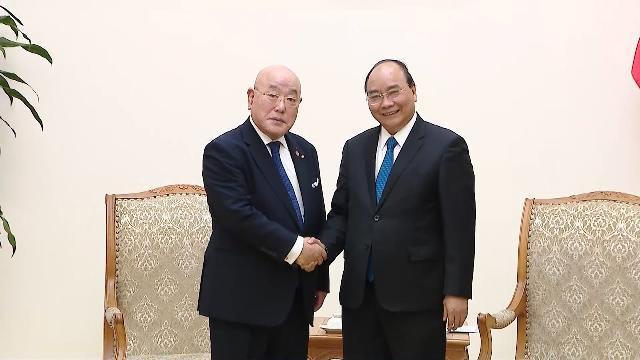 Thủ tướng tiếp Cố vấn Nội các đặc biệt của Thủ tướng Nhật Bản, ông Isao Iijima