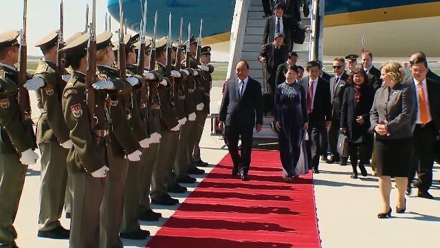 Thủ tướng Nguyễn Xuân Phúc thăm chính thức Cộng hòa Czech