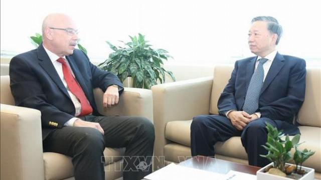 Bộ trưởng Bộ Công an Tô Lâm thăm và làm việc tại Hoa Kỳ