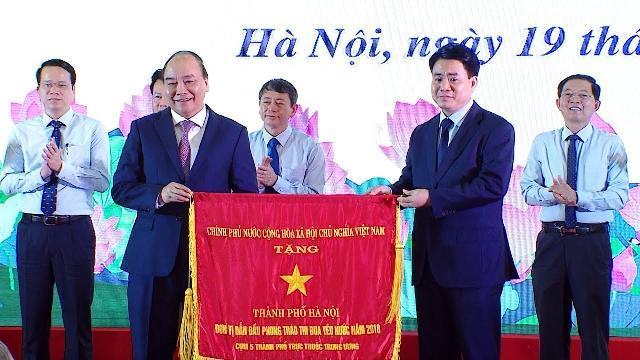 Thủ tướng dự Lễ phát động thực hiện văn hóa công sở