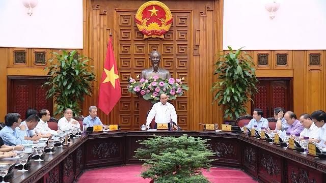 Thủ tướng làm việc với lãnh đạo chủ chốt tỉnh Thừa Thiên - Huế