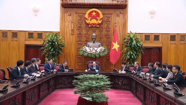 Thủ tướng tiếp Chủ tịch Tập đoàn SK (Hàn Quốc)