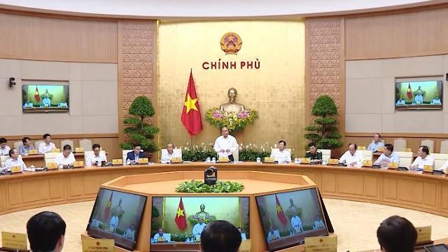 Thủ tướng chủ trì phiên họp Chính phủ thường kỳ tháng 5-2019