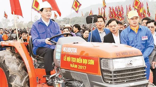 Chủ tịch nước Trần Đại Quang kêu gọi xuất nông sản chất lượng cao ra thế giới