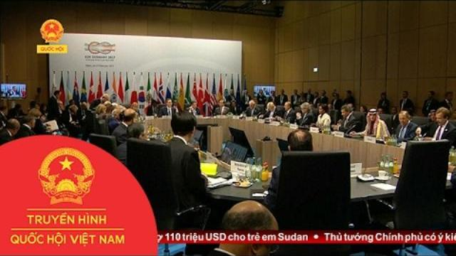 Hội nghị thượng đỉnh G20 chính thức khai mạc tại Đức
