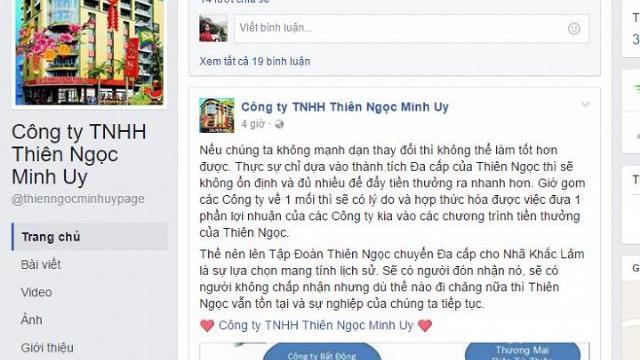 Video: Công ty đa cấp Thiên Ngọc Minh Uy chính thức dừng hoạt động