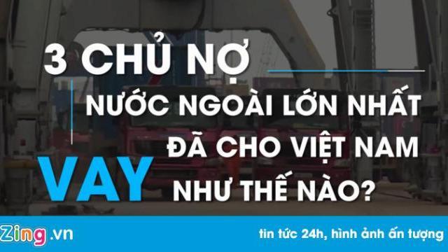 Ba chủ nợ lớn đã cho Việt Nam vay như thế nào?