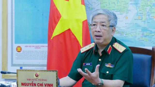Thượng tướng Nguyễn Chí Vịnh trả lời phỏng vấn báo chí 2