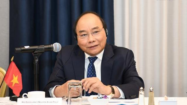 Thủ tướng Nguyễn Xuân Phúc gặp gỡ các doanh nghiệp Mỹ