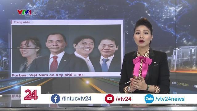 Tỷ phú đô la Mỹ, Việt Nam xuất hiện 4 gương mặt