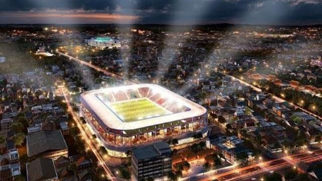 Sân Hàng Đẫy mới trị giá 250 triệu EURO