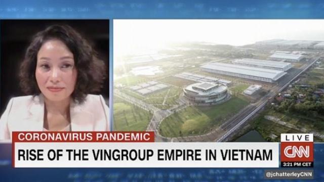 Vingroup xuất hiện trên chương trình 'First Move' của CNN
