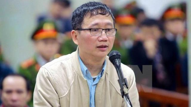 Trịnh Xuân Thanh nói 'nhiều đêm không ngủ vì nỗi ân hận'
