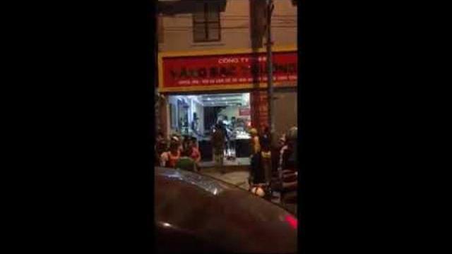 Cướp tiệm vàng ở Sơn La - Các đối tượng đi ô tô, sử dụng vũ khí
