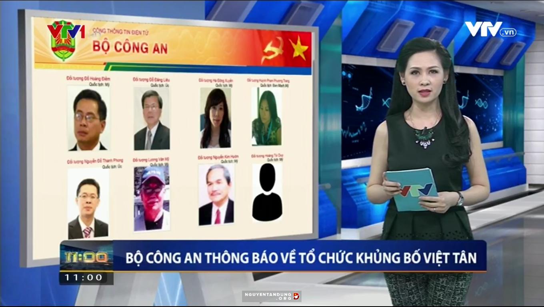 Bộ Công an đưa Việt Tân vào danh sách tổ chức khủng bố