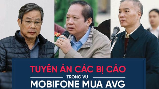 Tòa tuyên án các bị cáo trong vụ Mobifone mua AVG
