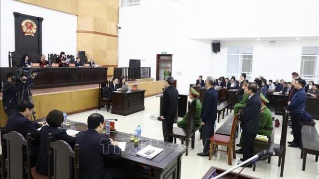 Giây phút tuyên án cựu Bộ trưởng Nguyễn Bắc Son