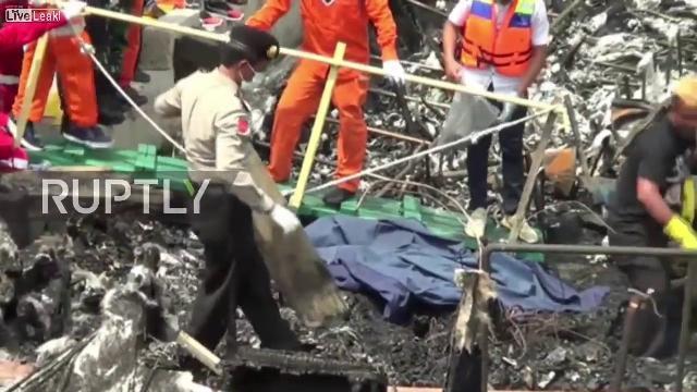 Indonesia: Ít nhất 23 người chết và hàng chục người bị thương sau khi cháy phà
