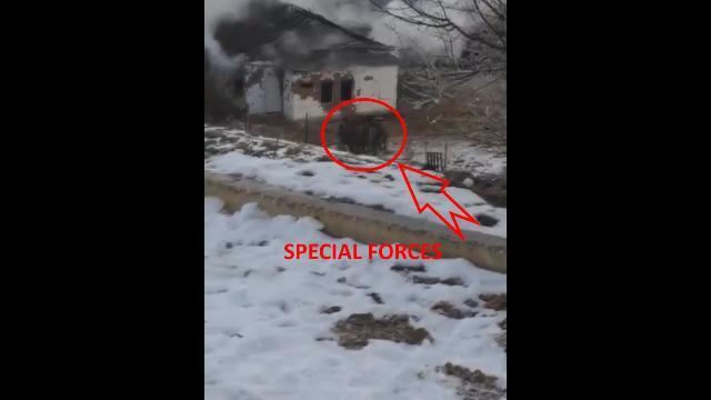 Xem đặc nhiệm Nga nã đạn kinh hoàng tiêu diệt 2 tên khủng bố ở Dagestan
