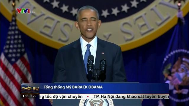 Lời từ biệt của Tổng thống Barack Obama