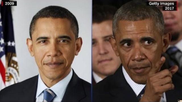 Những hình ảnh trước và sau của các Tổng thống Mỹ - Before and after photos of presidents