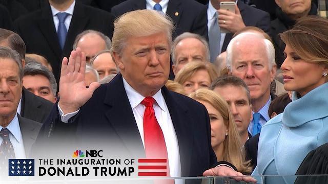 Lễ nhậm chức của Tổng thống thứ 58 Hoa Kỳ Donald J. Trump (Full Video) | NBC News