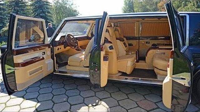 Chiêm ngưỡng siêu xe Limousine ZIL 4112P bị Putin hủy bỏ - Putin canceled this Limousine ZIL 4112P!