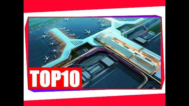 Top 10 sân bay lớn nhất thế giới 2016 - Top 10 Biggest Airports in the world 2016