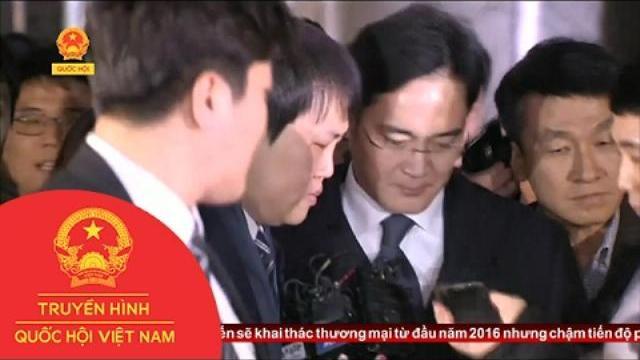 Hàn Quốc: Phó Chủ tịch Samsung chính thức bị bắt giữ do liên quan vụ bê bối chính trị với Tổng thống Park Geun-hye